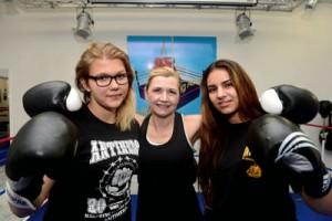 Vize-Weltmeisterin und Deutsche Meisterin bereiten sich in Dortmunder Boxschule auf EM in Ungarn vor
